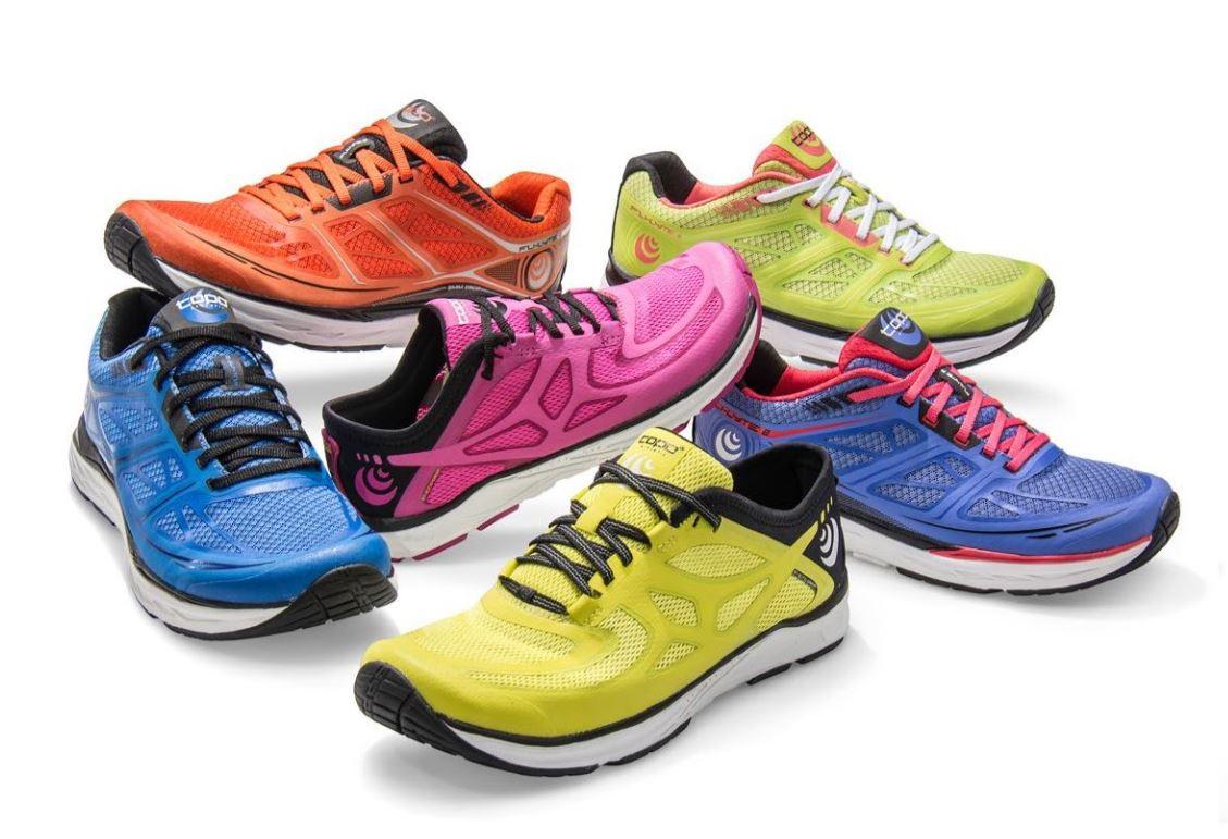 Běžecké boty se širokou špicí a sníženým dropem  a5db9e2807